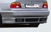 BMW E39 Седан Накладка на задний бампер