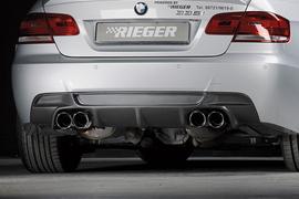 BMW E92/E93 06-13 335I Накладка на задний бампер Carbon Look