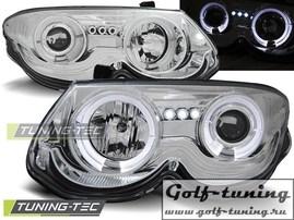 Chrysler 300M 99-04 Фары Angel eyes хром