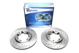 Nissan Patrol Комплект спортивных тормозных дисков