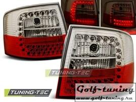 Audi A6 97-04 Универсал Фонари светодиодные, красно-белые