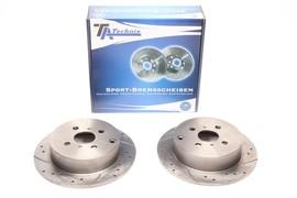 Toyota Corolla / Corolla Verso / Prius / Yaris / Yaris Verso Комплект спортивных тормозных дисков