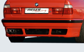 BMW E34 Седан/Универсал Накладка на задний бампер E39 Look