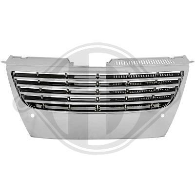 VW Passat B6 Решетка радиатора без значка хром