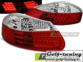 Porsche Boxster 96-04 Фонари светодиодные, красно-белые
