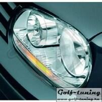 VW Golf 4 Фары в стиле Golf 5