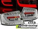 Audi A6 4F 04-08 Седан Фонари светодиодные, хром Lightbar
