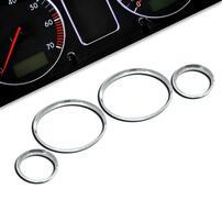 BMW E30 M3 Комплект хромированных колец в приборную панель