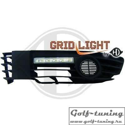 VW Passat B5+ Дневные ходовые огни хром