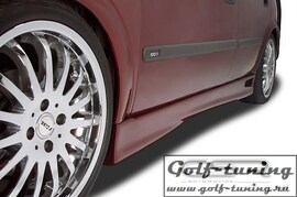 Opel Astra G 98-04 Накладки на пороги