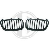 BMW X3 06-10 Решетки радиатора (ноздри) матовые