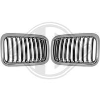BMW E36 91-96 Решетки радиатора (ноздри) хром