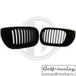 BMW E46 01-05 Седан/Универсал Решетки радиатора (ноздри) черные