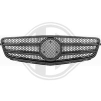 Mercedes W204 07-11 Решетка радиатора глянцевая