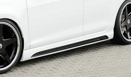 Seat Leon 5F/FR/Cupra 3Дв 12- Накладки на пороги carbon look