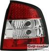 Opel Astra G Фонари светодиодные, красно-белые