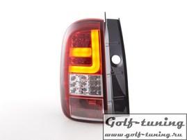 Renault Duster 09-17 Фонари светодиодные, красно-белые