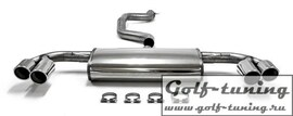 Audi TT 8J Coupe/Roadster 2WD Catback выхлоп с разводкой 2x90mm