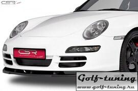 Porsche 911/997 04-08 Накладка на передний бампер