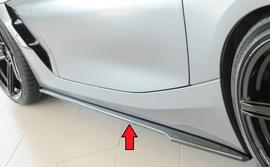 BMW Z4 (G4Z/G29) roadster 19- Накладки глянцевые под M-Sport-package пороги