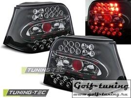 VW Golf 4 Фонари светодиодные, черные