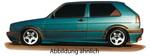 VW Golf 2 5Дв Накладки на пороги