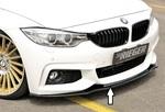 BMW F32/F33/F36 12-15/15- Накладка на передний бампер глянцевая