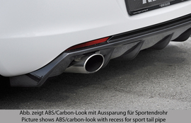 Opel Astra J 09-12 Диффузор для заднего бампера