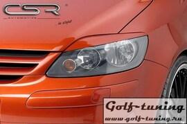 VW Golf Plus/Crossgolf  05-09 Реснички на фары