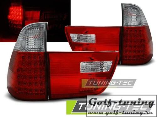 BMW X5 99-06 Фонари светодиодные, красно- белые