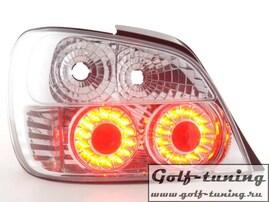 Subaru Impreza 01-02 Фонари светодиодные, хром