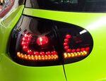 VW Golf 5 Фонари светодиодные, тонированные с бегающим поворотником