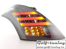 Suzuki Swift 11- Фонари светодиодные, тонированные
