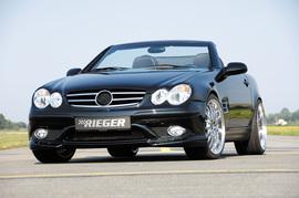 Mercedes R170 Передний бампер SL-Look