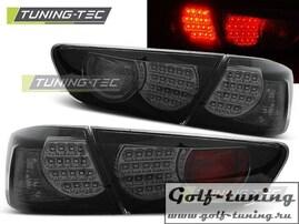 Mitsubishi Lancer 08-11 Седан Фонари светодиодные, черные