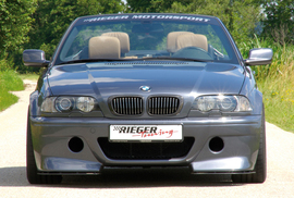 BMW E46 Купе/Кабрио Передний бампер в стиле CS