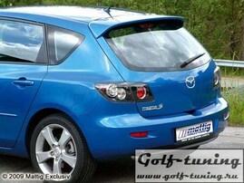 Mazda 3 03-09 Спойлер на крышку багажника