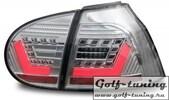 VW Golf 5 Фонари светодиодные, хром