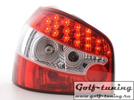 Audi A3 8L 96-03 Фонари светодиодные, красно -белые