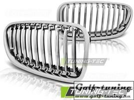 BMW F10/F11 10-13 Решетки радиатора (ноздри) хром