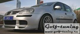 VW Golf 5 Спойлер переднего бампера JMS