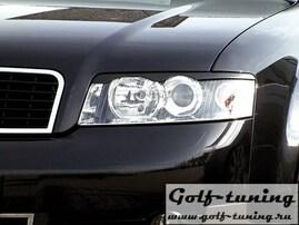 Audi A4 B6 00-04 Реснички на фары