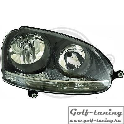 VW Golf 5 Фары черные