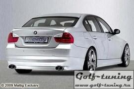 BMW E90 05- Накладка на задний бампер