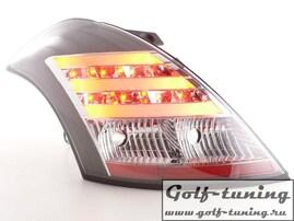 Suzuki Swift 11- Фонари светодиодные, черные