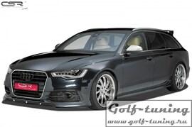 Audi A6 S-Line / S6 4G C7 11-14 Накладка на передний бампер