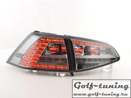 VW Golf 7 Фонари светодиодные, в стиле GTI, тонированные