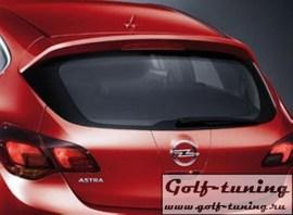 Opel Astra J 5Дв Спойлер на крышку багажника