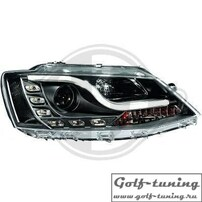 VW Jetta 6 10-15 Фары Lightbar design черные