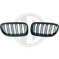 BMW E90 08-11 Решетки радиатора (ноздри) m-look матовые